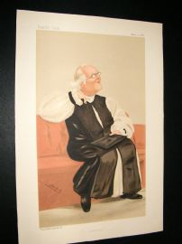 Vanity Fair Print 1888 Rt. Rev. Harvey Goodwin